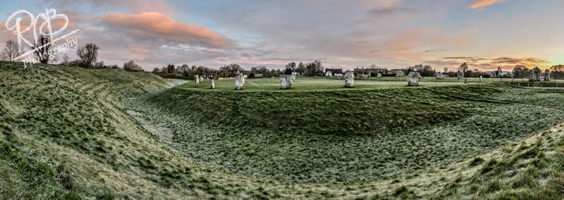 Avebury Morning - Panoramic Images