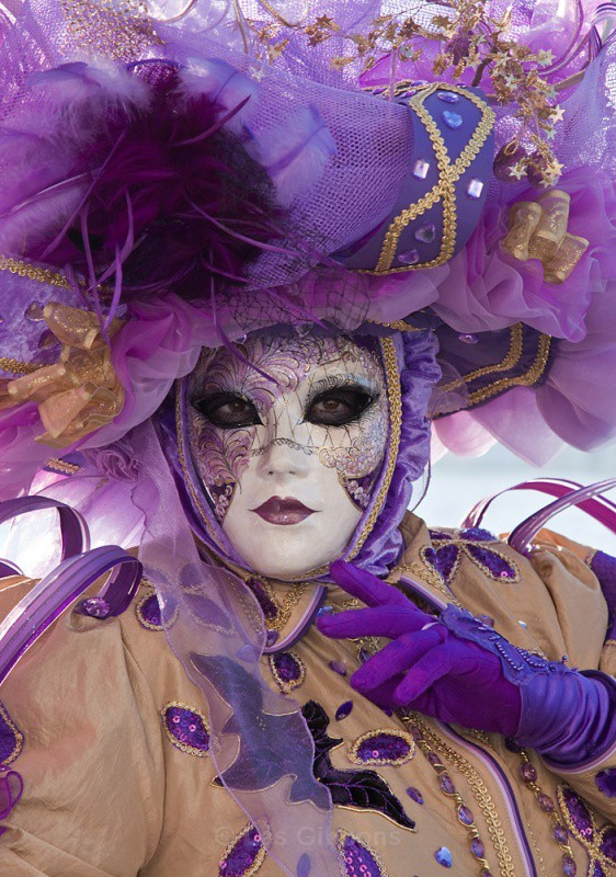 Purple and gold - Venice