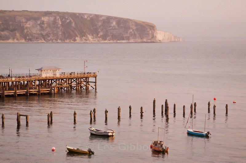 swanage pier - Dorset and the west country