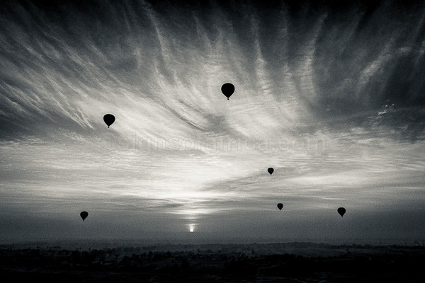 Egypt, Luxor, Balloon