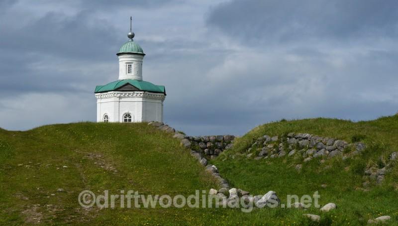 Solovetsky Islands monastery white chapel 10   - The Solovetsky Islands, Russia