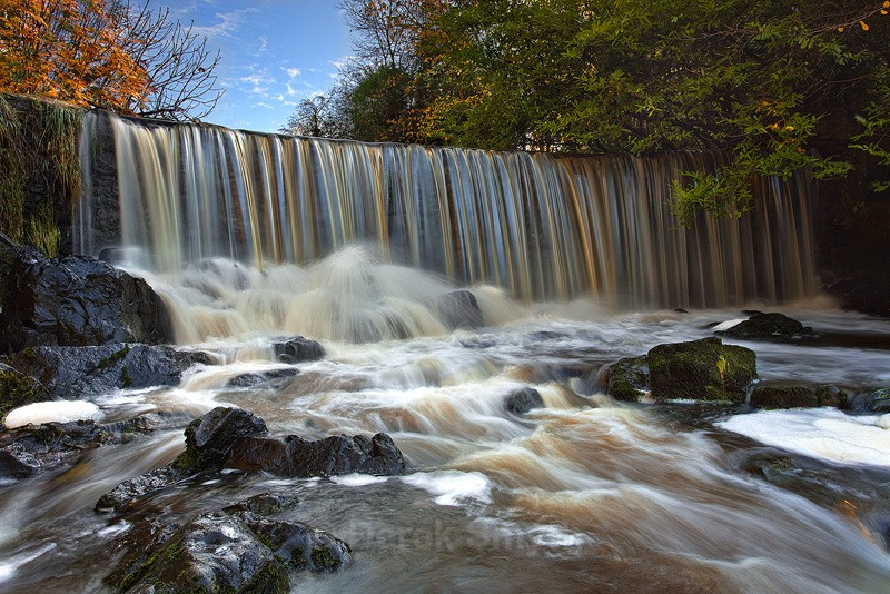 Crumlin Glen - Impressive Waterfall on the River Glen