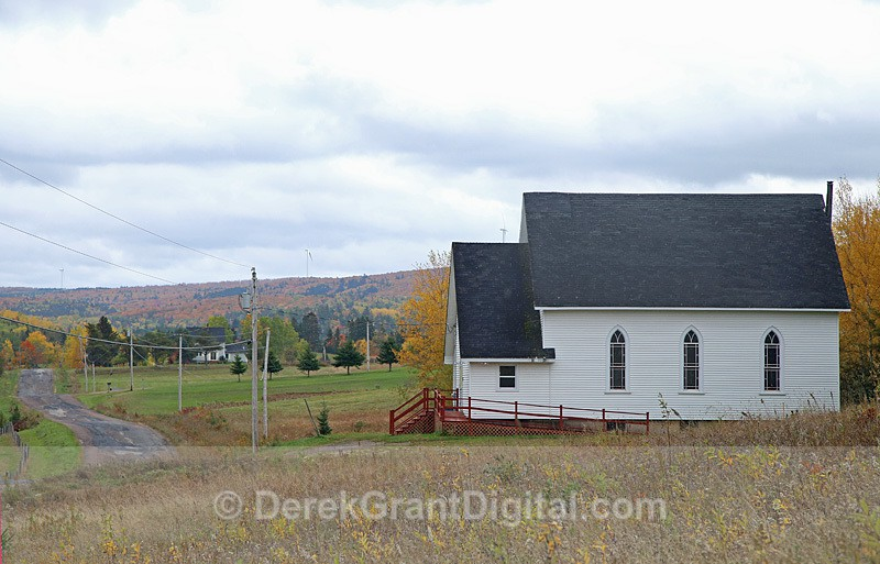 Second Elgin United Baptist Church Prosser Brook New Brunswick Canada - Churches of New Brunswick