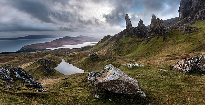The Old Man Of Storr Pano - Scotland