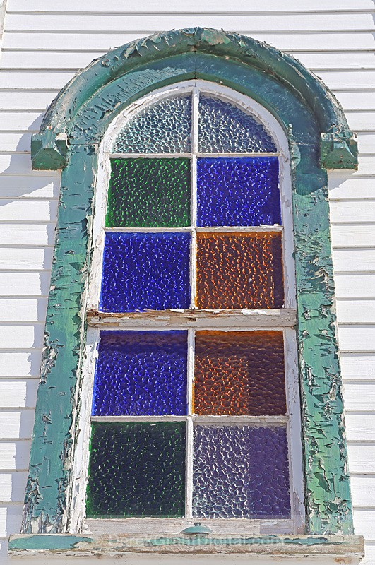 St. Bridget's Stained Glass - 2 Chapel Grove, New Brunswick, Canada - Churches of New Brunswick