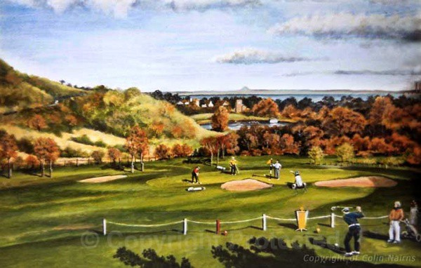 Duddingston Golf Club, Edinburgh - Commissioned Work