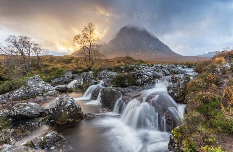 Sunrise Buachaille Etive Mor   Glen Etive Scotland Photography