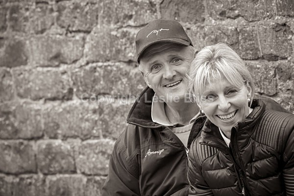 Louise and Robert Bell - Dressage Rider Portraits