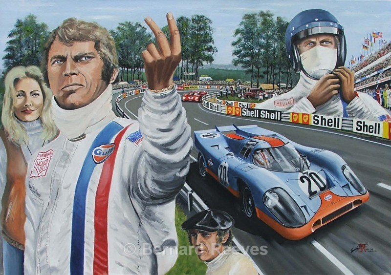 Tribute to Steve McQueen Le Mans - Steve McQueen