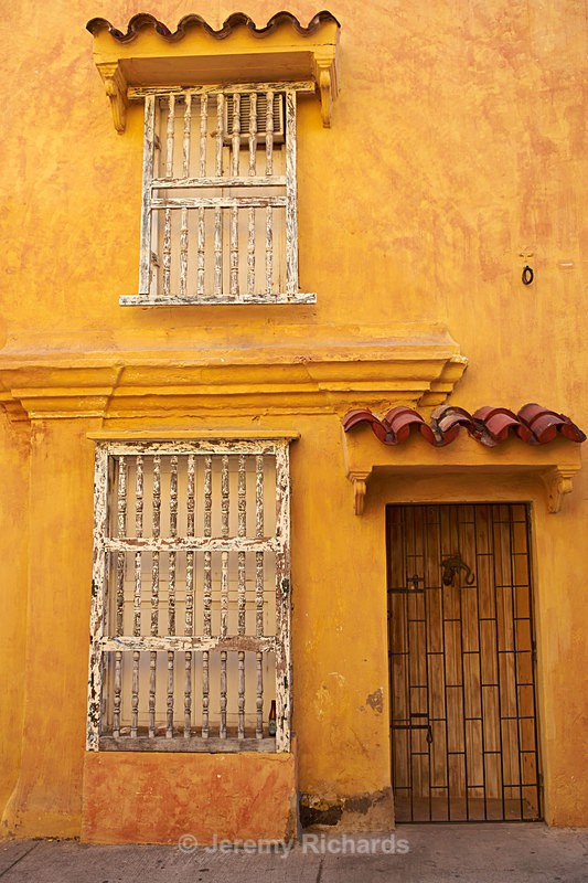Colourful Houses of Cartagena - Colombia