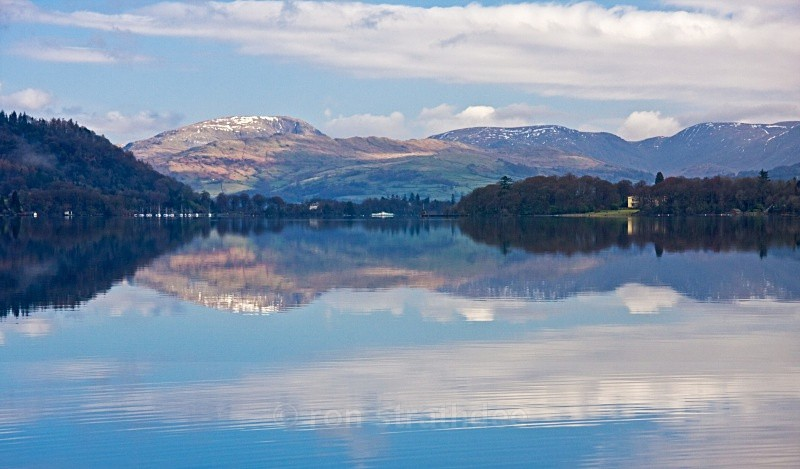 Morning reflections on Lake Windermere - Outside the Isle of Man