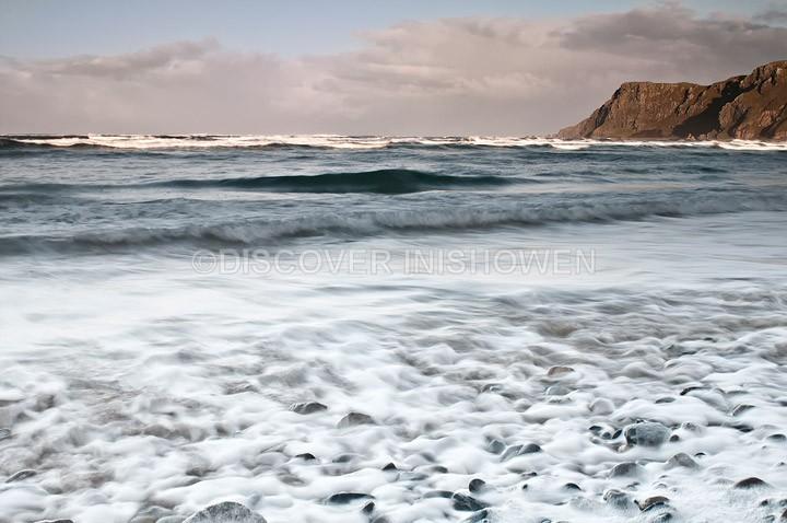 Foamy beach - Nature