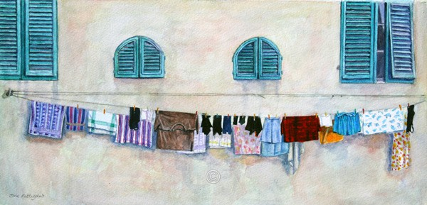 Washing, Lucca. - Italia