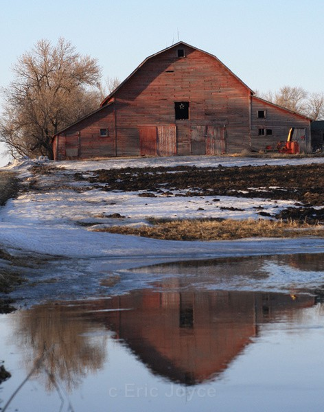 Barn reflection - SW Minnesota