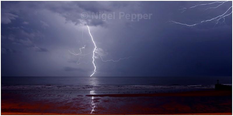 Lightning Strike ( 1 ) - Dramatic Weather