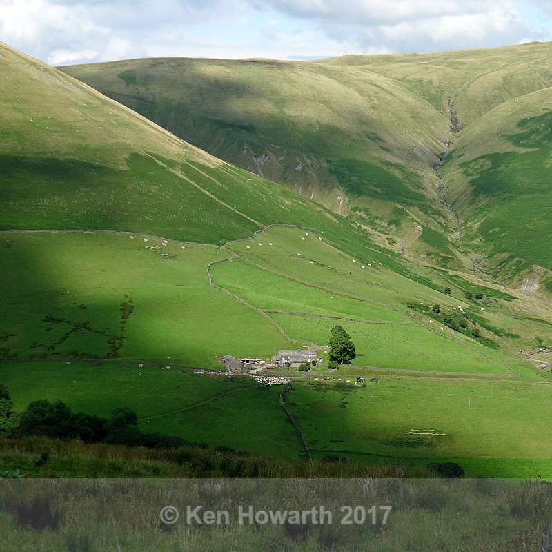 The Howgills and the Lune Gorge - Lakeland Landscapes