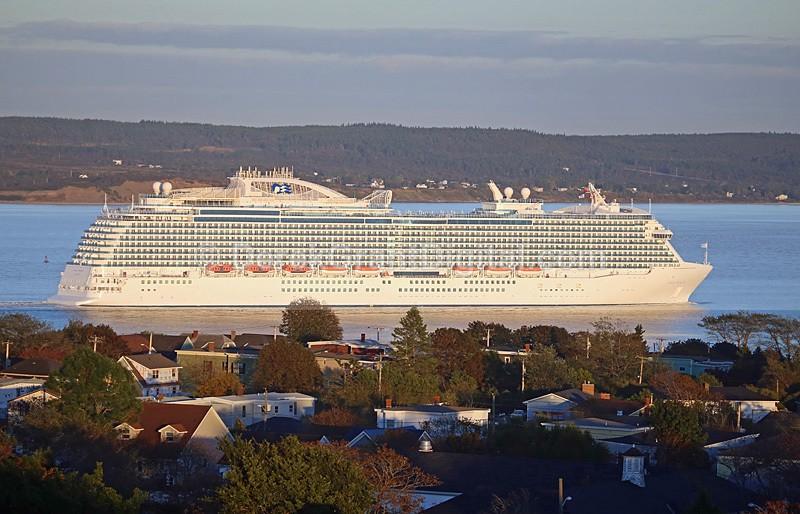 Regal Princess Love Boat Cruise Ships Saint John NB Canada - Cruise Ships