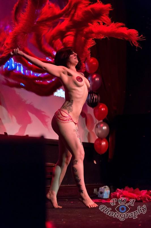 1 Aurora Galore in Burlesque Show Born to be Wild