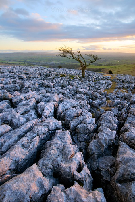 Twistleton Scar Portrait View | Yorkshire Dales Location