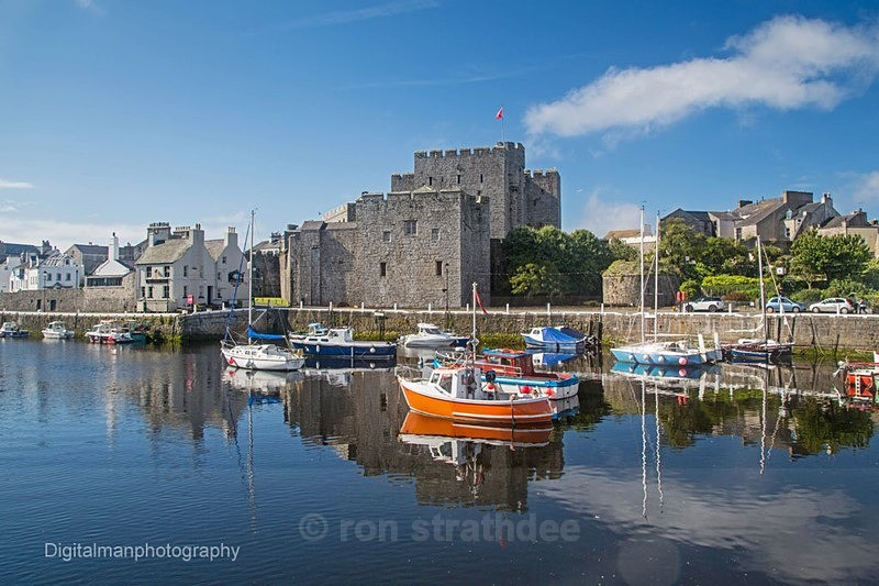 Castletown Harbour reflections - Land of Man