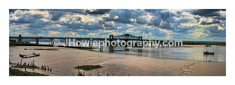 kincardine bridge panorama - panoramas