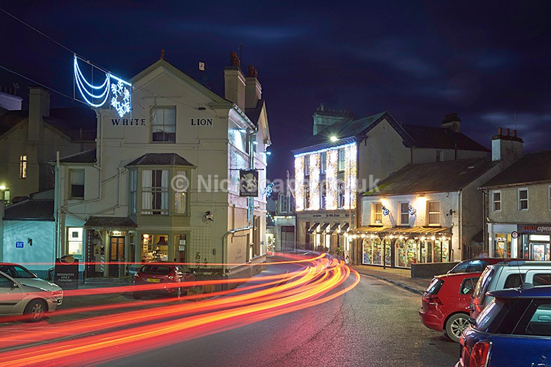 Ambleside Christmas Lights - Lake Road / White Lion