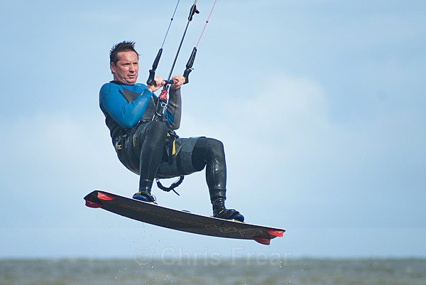 - Kite surfing