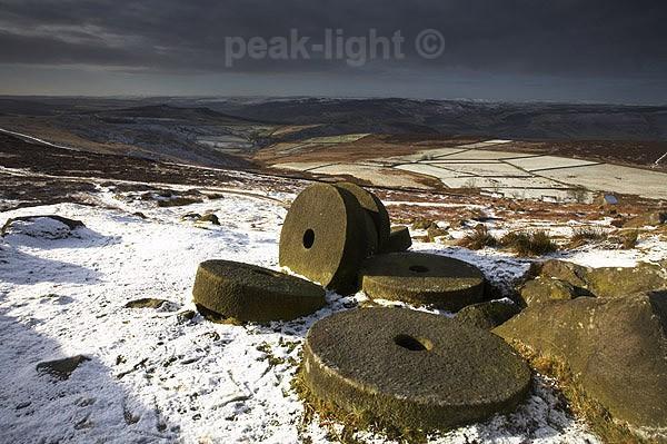 Millstones - Peak District