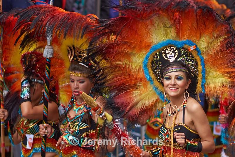 Tobas Dancers - Oruro Carnival 2017