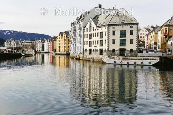 Ålesund portside houses - Norway Coast