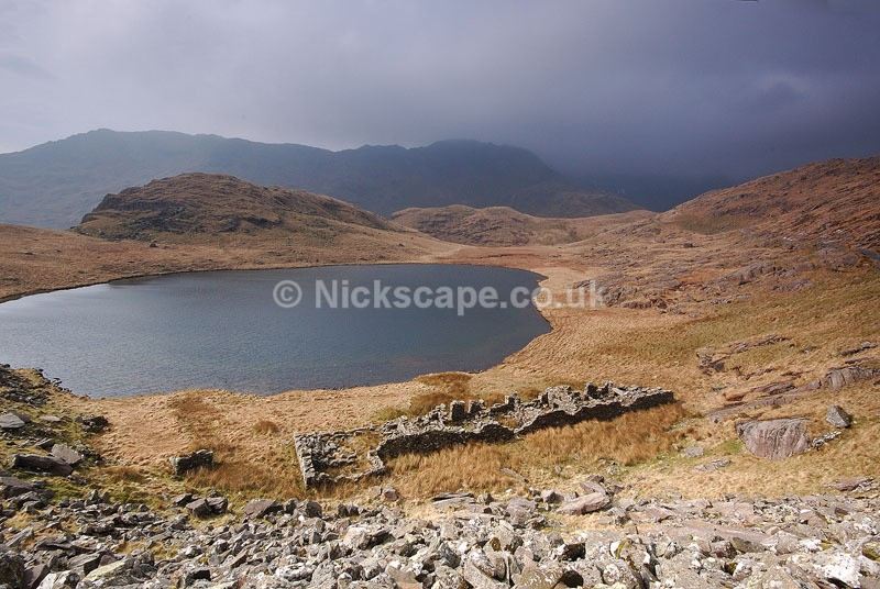 Snowdonia Mountain Path and Llyn Teyrn | Snowdonia National Park Photography