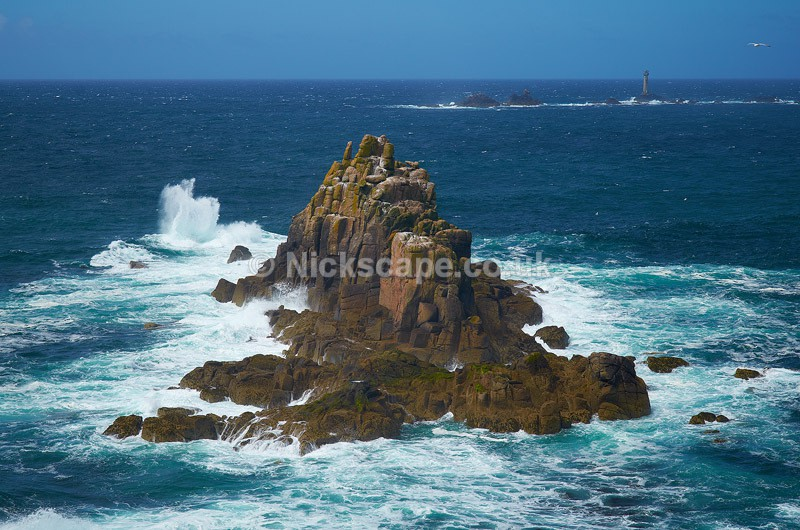Armed Knight Rock - Lands End - Cornwall, UK - Cornwall