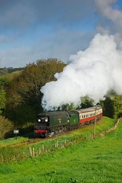 34007 Wadebridge - The Lure of Steam