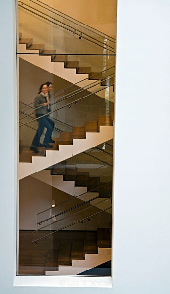 MOMA staircase - New York