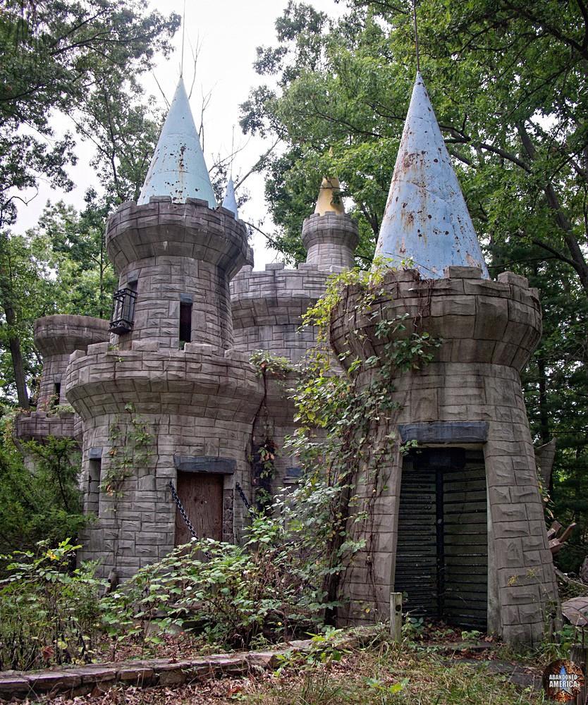 Enchaned Forest (Ellicott City, MD) | Cinderella's Castle Turret Door - The Enchanted Forest