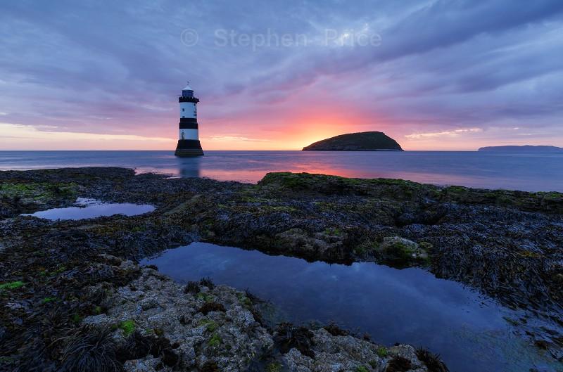 Penmon Lighthouse Sunrise | North Wales Photography