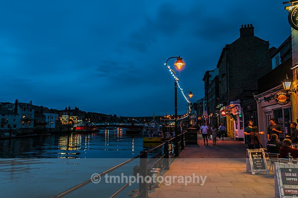 Whitby Quay Side - Low Light Photography