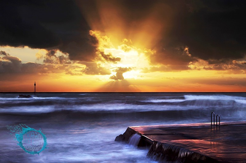 Breaking Through - Seascapes
