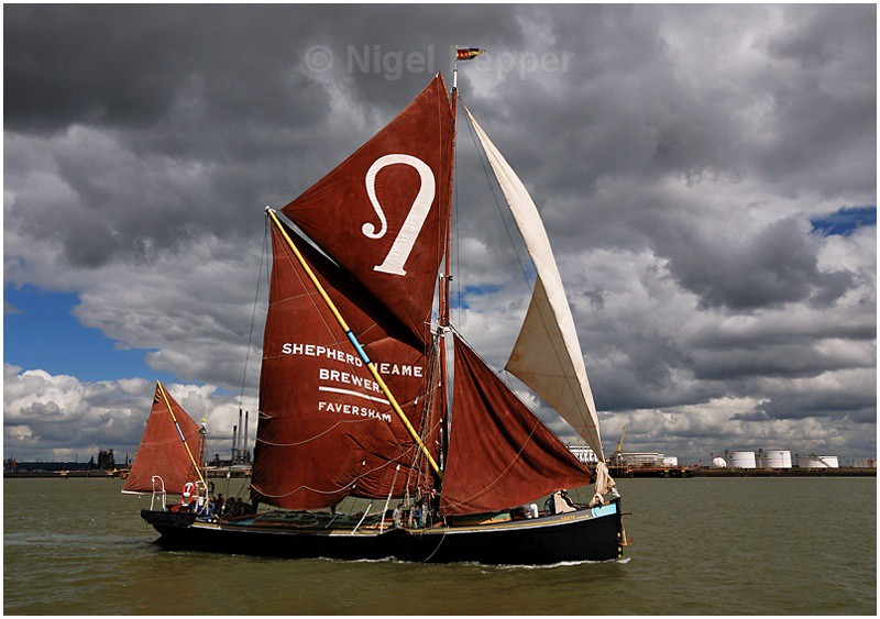 SB Greta (1) - The Thames Barge Match