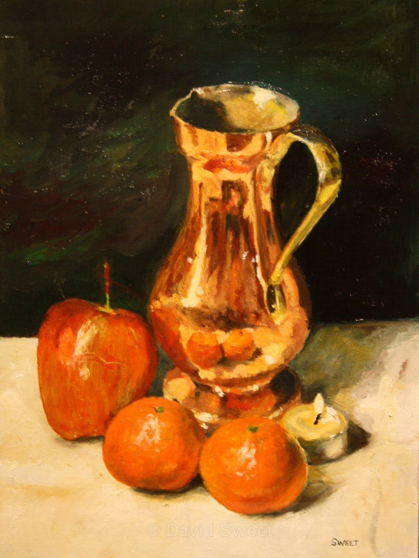 Copper Jug - Oil Paintings
