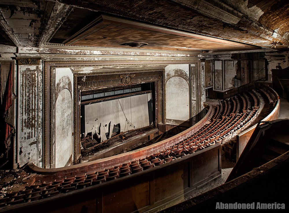 Victory Theatre (Holyoke MA) | Stage From Balcony - The Victory Theatre