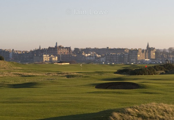 St Andrews New Course 17th par 3 - St Andrews New Course