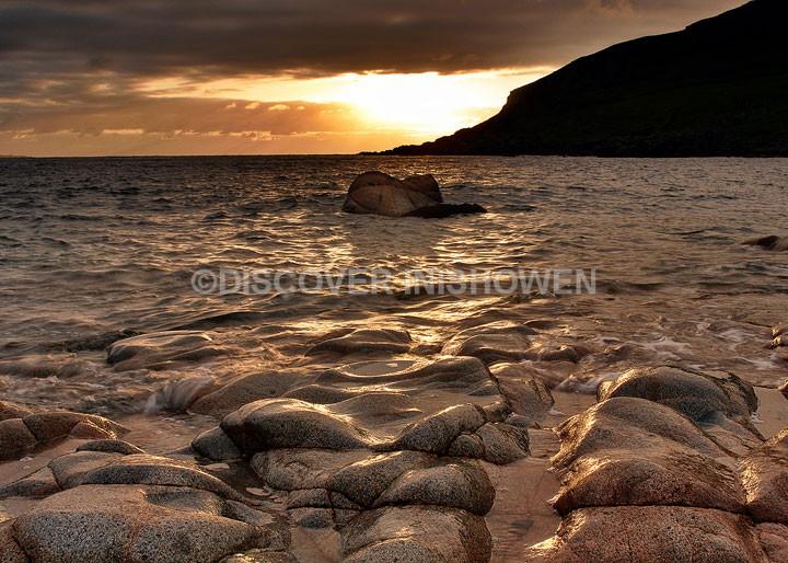 Sunset at Dunaff Bay - Inishowen peninsula
