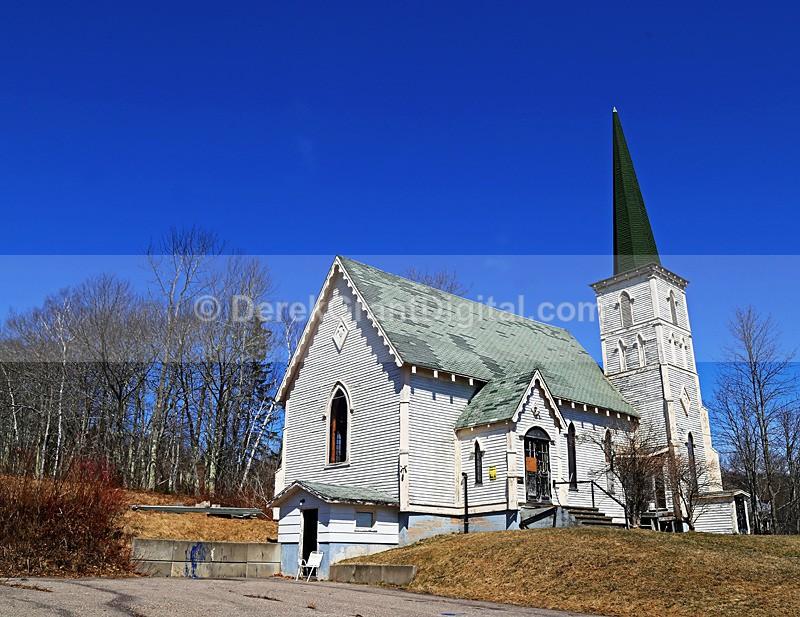 St. Peter's Anglican Church ~ Greenwich Parish, New Brunswick Canada - Churches of New Brunswick