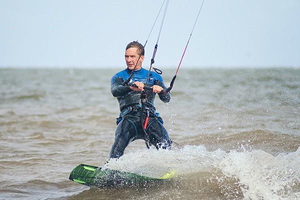 - Kite surfing