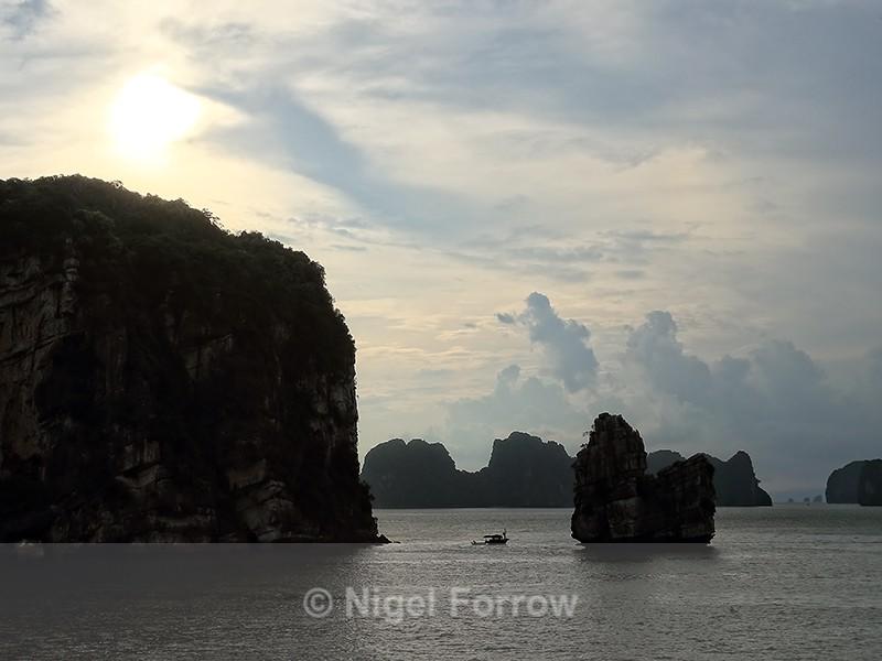 Ha Long Bay sunset, Vietnam - Vietnam