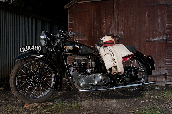 7 - Rudge Motorcycle Restoration