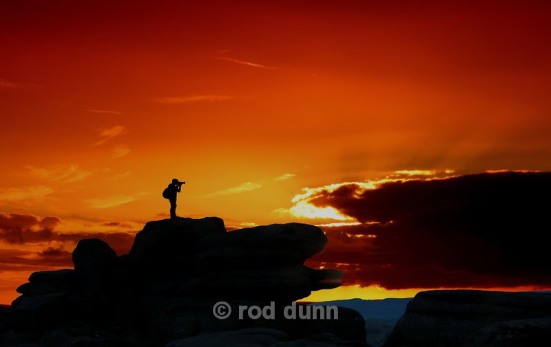 Over Owler Tor Photographer - New Images