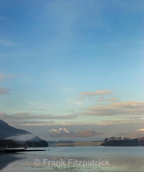 Loch Leven, Highland, Scotland. - Highland