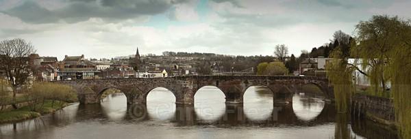 Devorgilla Bridge, Dumfries - Panoramics